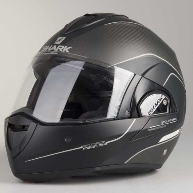 f4f742f0 Shark Evoline Pro Carbon Helmet Matt Black - Now 3% Savings - XLmoto.ie
