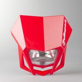 Lampa Przednia Owiewka Polisport LMX Czerwona