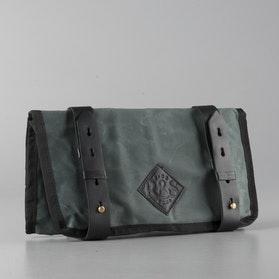 Ride&Sons Waxed Tool Bag Grey-Black