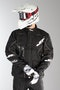 JT Racing Six Day Enduro Jacket - Black-White