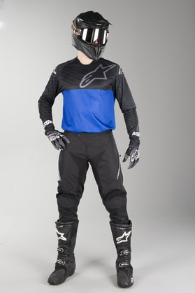 Alpinestars Venture R MX Clothes Black-Blue