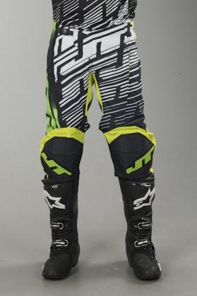 Cross Kalhoty JT Racing Prime Černá-Žlutá-Šedá