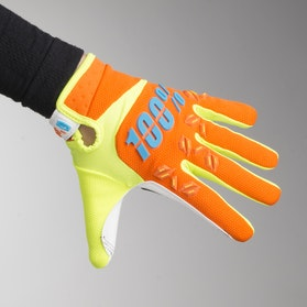 100% Airmatic Youth Gloves Orange