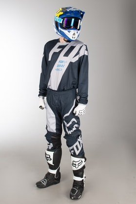 Fox 180 Mastar MX Clothes Navy Blue MX 18