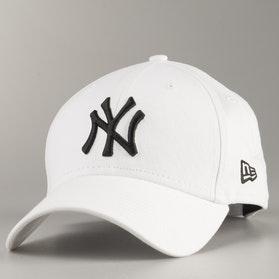 Czapka z Daszkiem New Era 940 League Basic New York Yankees Biała