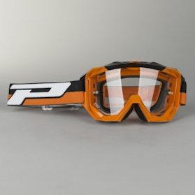 Gogle cross ProGrip Moto Art 3200 Pomarańczowe
