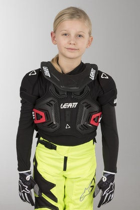 Brynje Leatt 2.0 Junior, Sort