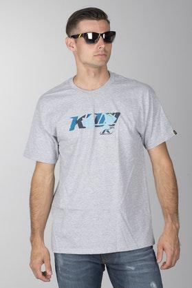 T-Shirt Klim XC Heather Szary