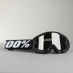 100% Youth Strata Goggles Goliath Black