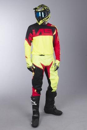 Alias A2 Burst MX Clothing Kit Neon Yellow-Red