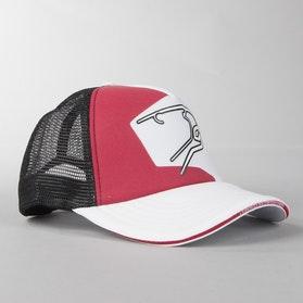 Czapka Bering Czarno-Biało-Czerwona