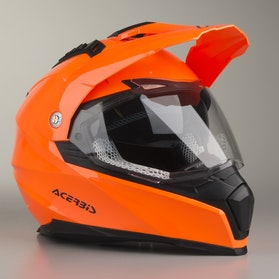 Acerbis Flip FS-606 Helmet Fluorescent Orange