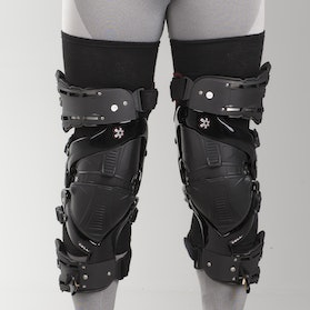 Asterisk Ultra Protection System 2.0 Knee Guard Black Pair