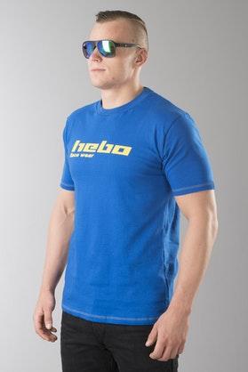 T-Shirt Hebo Race Wear Niebieski
