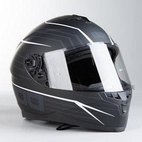 IXS 1100 2.1 Integral Helmet Matte Black-White