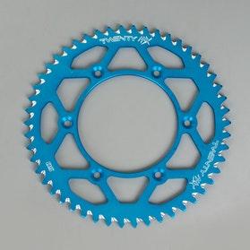 Zębatka tylna Twenty, niebieska