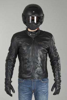Spidi Ace Leather Jacket Black