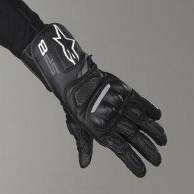 Alpinestars SP-8 V2 Women's Motorcycle Gloves - Grey