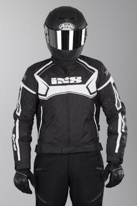 IXS Activo Jacket Black-White