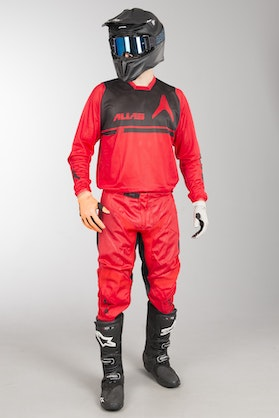 Alias A2 Tech Vented MX Clothing Kit Red