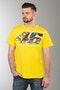 T-Shirt VR46 Cupolino Żółty