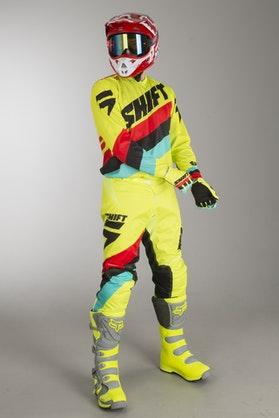 Shift Whit3 Tarmac MX Clothes Flou-Yellow