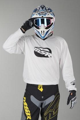 Bluza Cross MSR Axxis Main Białe