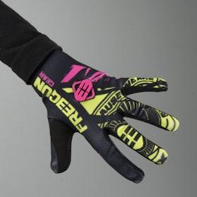 Freegun Nerve Youth Gloves Neon Yellow-Pink