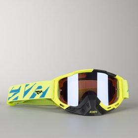 Gogle Cross FXR Boost HiVis-Żółto-Czarne