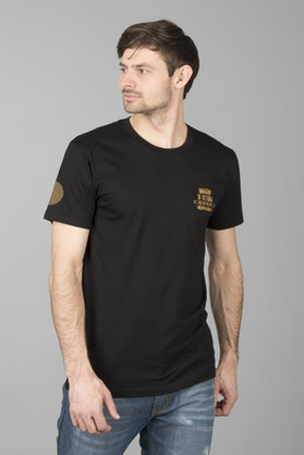 T-Shirt Alpinestars Fluid Premium Czarny