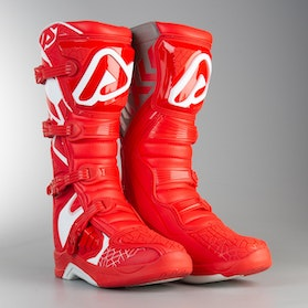 Acerbis X-Team MX Boots Red-White