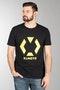 T-shirt XLMOTO Czarno-Żółty