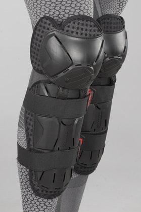 Ochraniacze Kolan Shot Optimal Czarno-Czerwone