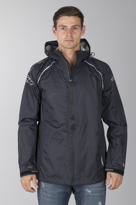 Alpinestars Qualifier Rain Jacket Black