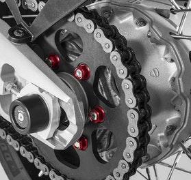 Zestaw Nakrętek Pokrywy Sprzęgła CNC Racing M10x1 6-Pak