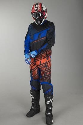 Cross Oblečení JT Racing Prime Modrá-Oranžová-Černá