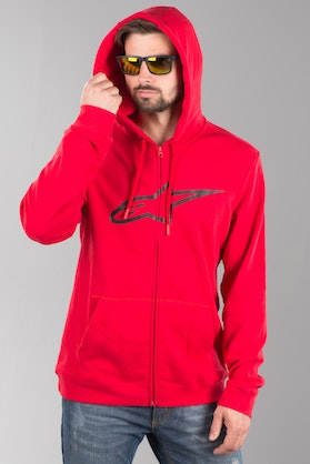 Alpinestars Ageless -- Hoodie Red-Black