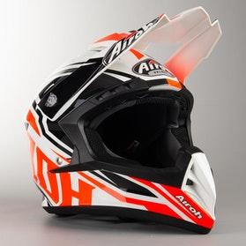 Airoh Switch Impact MX Helmet Orange Gloss