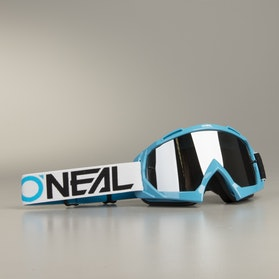 Gogle Cross O'Neal B-10 TwoFace Niebiesko-Czarno-Białe