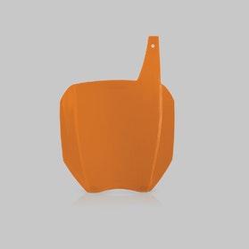 Nummerplade til Pynt/Præmie Acerbis, Orange
