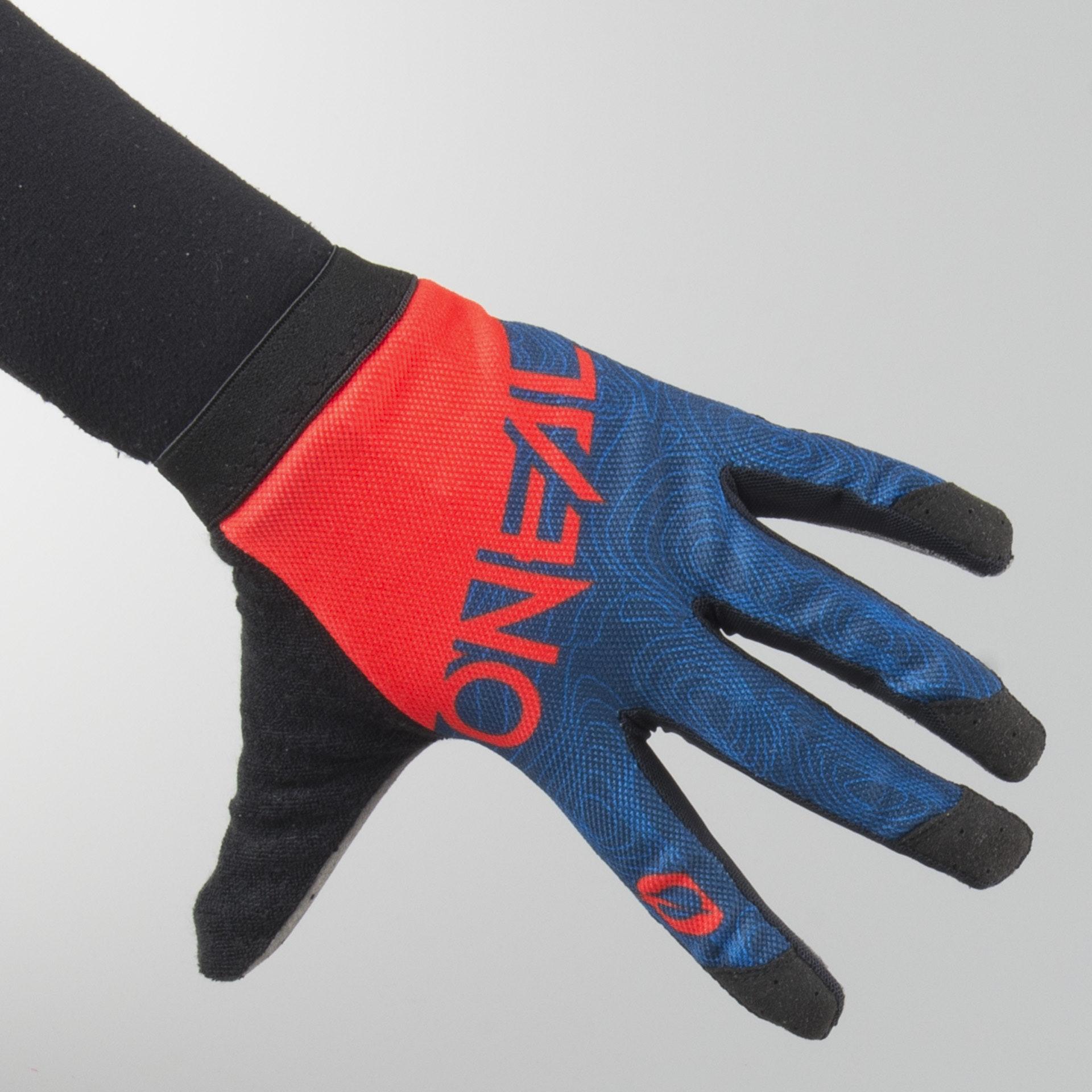 Alpinestars Radar Tracker MX Offroad Gloves Teal//Black//Yellow//Fluorescent