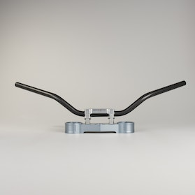 TRW Superbike Bars 22mm Black Comfort Steel
