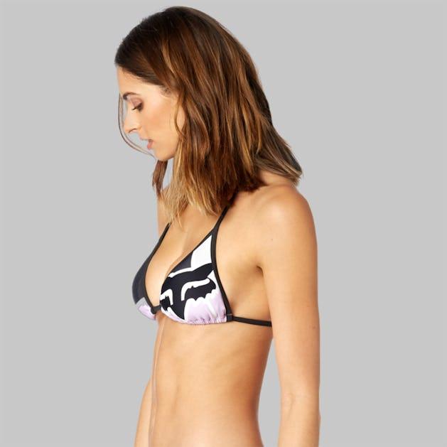 Bikinitop Fox Momentum Triangle, Lilla