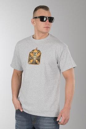 T-Shirt West Coast Choppers Goldfire Szary