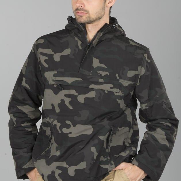 b919fc1a695a3 Brandit Windbreaker Jacket - Dark Camo - Best Buy today! - XLmoto.ie
