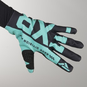 Rękawice Cross FXR Slip On Lite Czarno-Miętowe