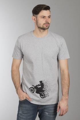 Koszulka 24MX MX Pixel Szara