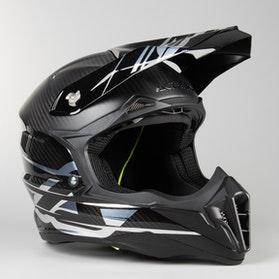 Acerbis X-Carbon MX Helmet Silver