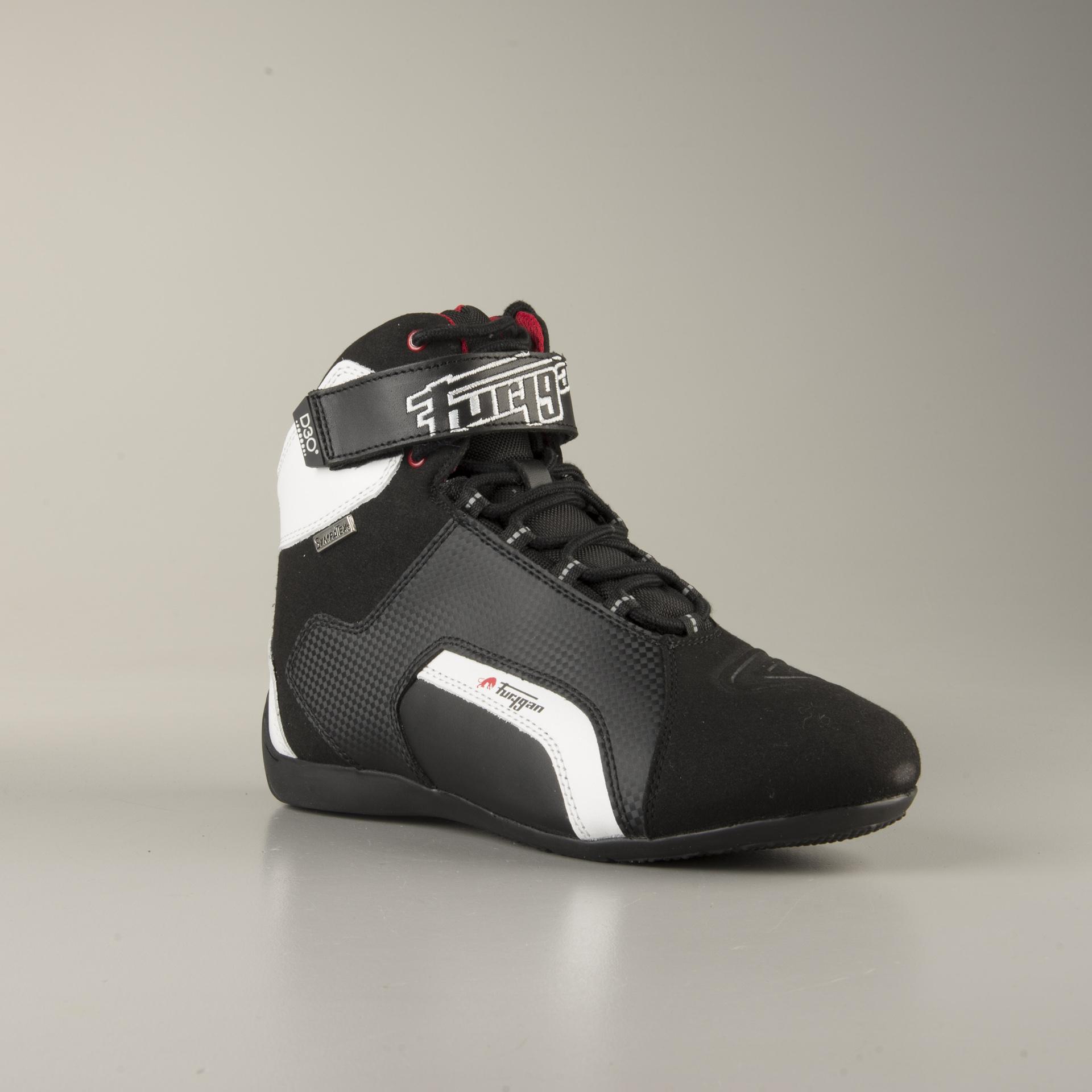 Chaussures Furygan Jet D3O Sympatex Noir Blanc