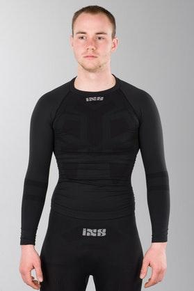 Koszulka termiczna IXS Adonis Czarny